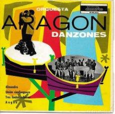 Discos de vinilo: ORQUESTA ARAGON - DANZONES - GRABACIONES DUARTE - EX-DC-600 - 1967. Lote 206839282