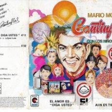 Discos de vinilo: MARIO MORENO - CANTINFLAS - EL AMOR ES OIGA USTED / AUN ES TIEMPO - RCA VICTOR SP-5841 - 1983 -PROMO. Lote 206839315