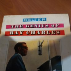 Discos de vinilo: THE GENIUS OF RAY CHARLES. EP.. Lote 206840175