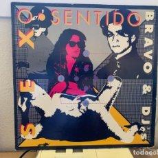 Discos de vinilo: BRAVO & DJS – SEX O SENTIDO. MAXI SINGLE VINILO.24H ESTADO VG+/VG+ . 1990. Lote 206842965