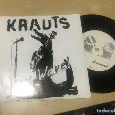 Discos de vinilo: KRAUTS - NEW WAVE - SINGLE EP PHONOMENAL 02 - PUNK ALEMAN 1979 REEDICION LIMITADA 500 COPIAS. Lote 206843162