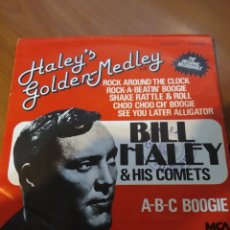 Discos de vinilo: BILL HALEY & HIS COMETS. GOLDEN-MEDLEY. EP.. Lote 206844225