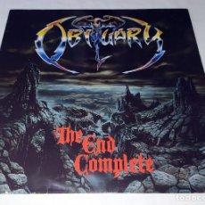 Discos de vinilo: LP OBITUARY - THE END COMPLETE. Lote 206845258