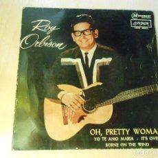 Discos de vinilo: ROY ORBISON, EP, OH, PRETTY WOMAN + 3, AÑO 1964. Lote 206846460