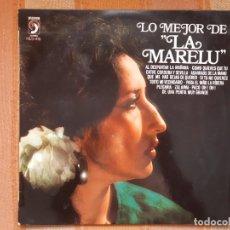 Discos de vinilo: LP LA MARELU. LO MEJOR DE LA MARELU.. Lote 206862147