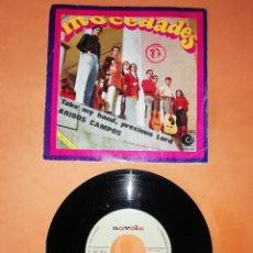 Discos de vinilo: MOCEDADES. TAKE MY HAND, PRECIOUS LORD. ARIDOS CAMPOS. NOVOLA RECORDS 1969. Lote 206863610
