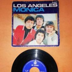 Discos de vinilo: LOS ANGELES . MONICA. TE PRESENTI. HISPAVOX RECORDS 1970. Lote 206864081