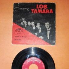 Discos de vinilo: LOS TAMARA. ZORBA EL GRIEGO. EL MUNDO. ZAFIRO RECORDS 1965. Lote 206869186