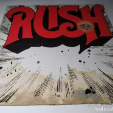 Discos de vinilo: LP - RUSH – RUSH - 6338 524 ( VG+ / P ) GER 1985 REISSUE - REPRESS ( UNA JOYA!). Lote 206881350