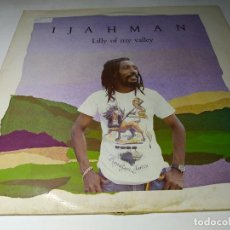 Discos de vinilo: LP - IJAHMAN ‎– LILLY OF MY VALLEY - JMI 500 ( VG+ / P ) UK 1985. Lote 206881850