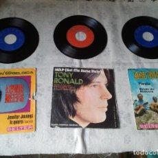 Discos de vinilo: LOTE DE ANTIGUOS DISCOS DE VINILO LOUIS NEEFS, TONY ROLAND Y LOS VALLDERMOSA. Lote 206885380