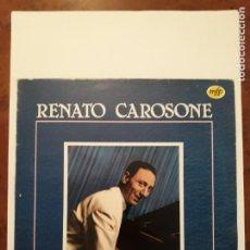 Discos de vinilo: RENATO CAROSONE. DISCO LP. VUELVE CAROSONE.. Lote 206887421