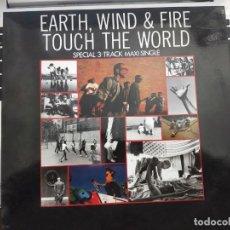 """Discos de vinilo: EARTH, WIND & FIRE - TOUCH THE WORLD (12"""") 1988. SELLO:CBS CAT. Nº: CBS 653048 6. Lote 206892857"""