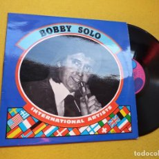Discos de vinilo: LP BOBBY SOLO – INTERNATIONAL ARTISTS - BELGIUM PRESS - SINUS MUSIC INA 409 (EX+/EX+) Ç. Lote 206892886