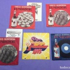 Discos de vinilo: SINGLE DISCO SOPRPRESA FUNDADOR VG++. Lote 206893566