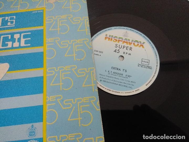 Discos de vinilo: VINILO MAXI/EXTRA TS/E.T. BOOGIE. - Foto 2 - 206898166