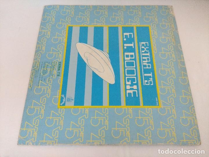 Discos de vinilo: VINILO MAXI/EXTRA TS/E.T. BOOGIE. - Foto 3 - 206898166