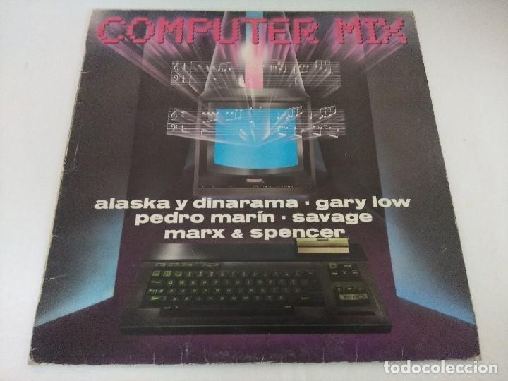 VINILO MAXI/COMPUTER MIX/ALASKA Y DINARAMA. (Música - Discos - LP Vinilo - Techno, Trance y House)