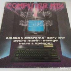 Discos de vinilo: VINILO MAXI/COMPUTER MIX/ALASKA Y DINARAMA.. Lote 206898633