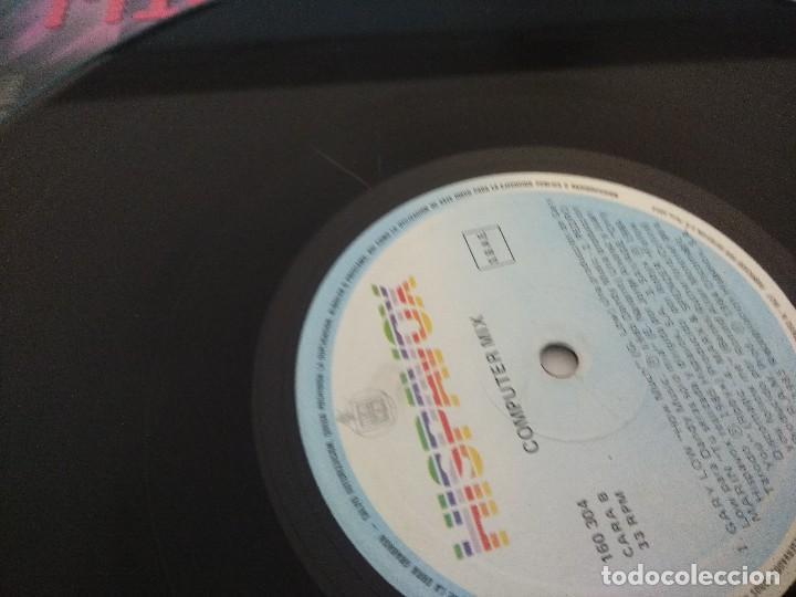 Discos de vinilo: VINILO MAXI/COMPUTER MIX/ALASKA Y DINARAMA. - Foto 3 - 206898633