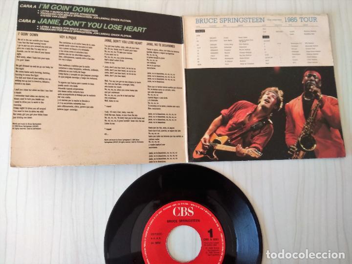 Discos de vinilo: BRUCE SPRINGSTEEN - JANIE, DON´T YOU LOSE HEART CBS - 1984 GAT - Foto 2 - 206901435