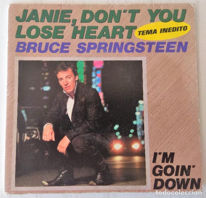 BRUCE SPRINGSTEEN - JANIE, DON´T YOU LOSE HEART CBS - 1984 GAT (Música - Discos de Vinilo - Singles - Pop - Rock Extranjero de los 80)