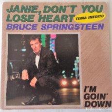 Discos de vinilo: BRUCE SPRINGSTEEN - JANIE, DON´T YOU LOSE HEART CBS - 1984 GAT. Lote 206901435