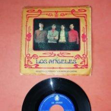 Discos de vinilo: LOS ANGELES. NO ESTOY CONTENTO. LOS ANGELES CANTAN. HISPAVOX 1967. Lote 206902415
