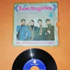 Discos de vinilo: LOS ANGELES. 98.6 . ME HACES SENTIRME TAN DICHOSO. HISPAVOX 1967. Lote 206903882