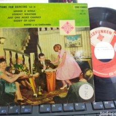 Discos de vinilo: RUBINO Y SUS CONTINENTALES EP RHYTHMS FOR DANCING VOL.III ESPAÑA 1961. Lote 206904191