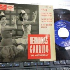 Discos de vinilo: HERMANAS GARRIDO EP VOY + 3 1965. Lote 206906580