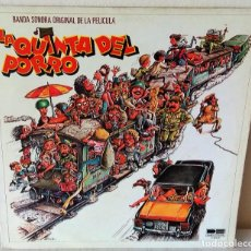 Discos de vinilo: LA QUINTA DEL PORRO - BANDA SONORA BELTER - 1981. Lote 206910483