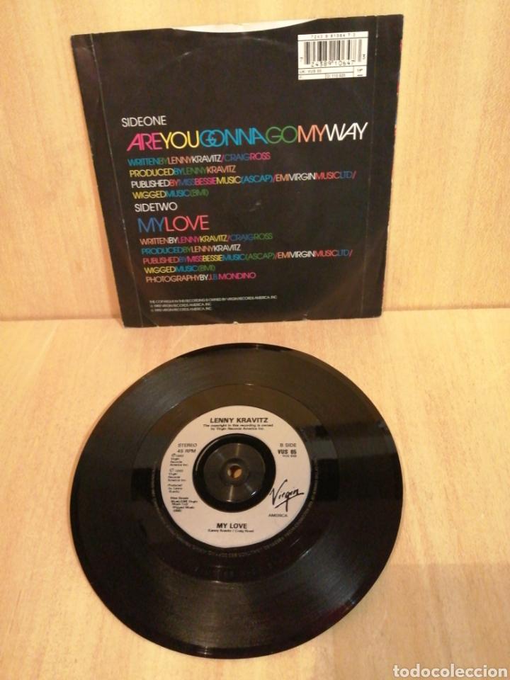 Discos de vinilo: Lenny Kravitz. Are you gonna go my way. My love. - Foto 2 - 206920702