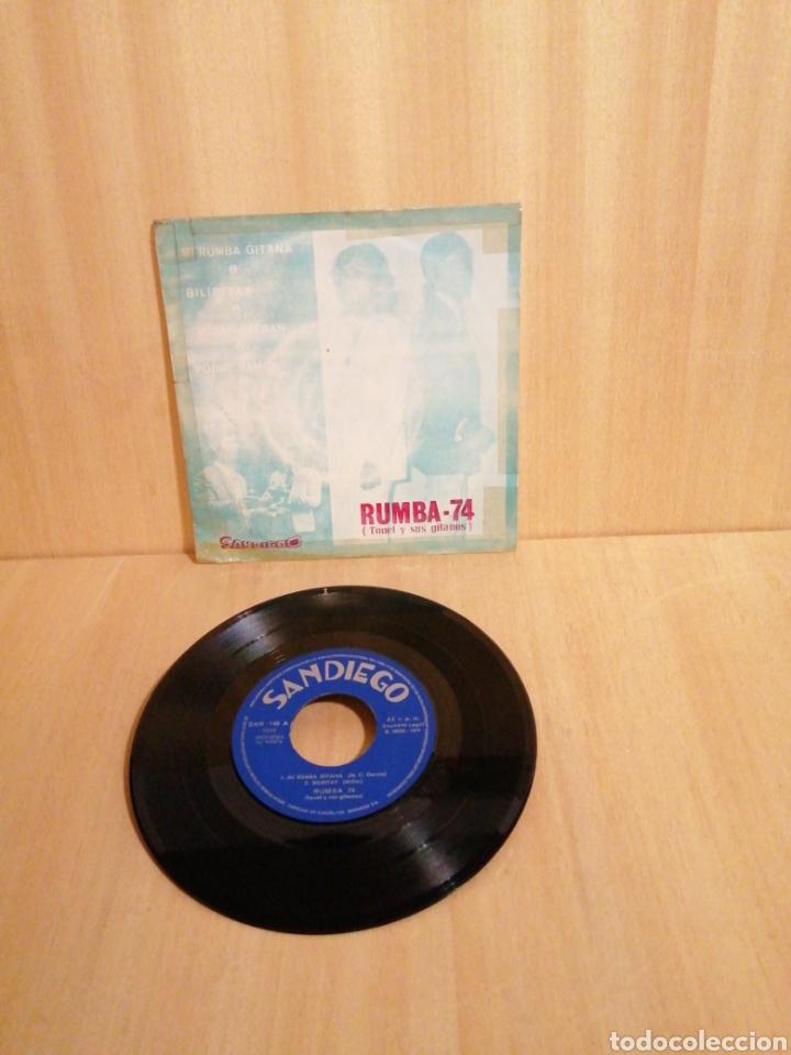 RUMBA 74. TONET Y SUS GITANOS. MI RUMBA GITANA. ETC. EP (Música - Discos de Vinilo - EPs - Grupos Españoles de los 70 y 80)