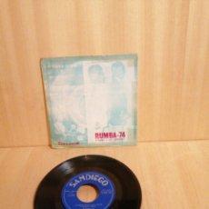 Discos de vinilo: RUMBA 74. TONET Y SUS GITANOS. MI RUMBA GITANA. ETC. EP. Lote 206925432