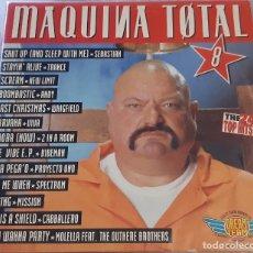 Discos de vinilo: MAQUINA TOTAL 8 (3 × VINYL, LP COMPILATION). Lote 206928646