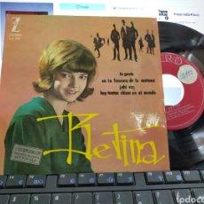 Discos de vinilo: BETINA EP LA GENTE + 3 1964. Lote 206930000