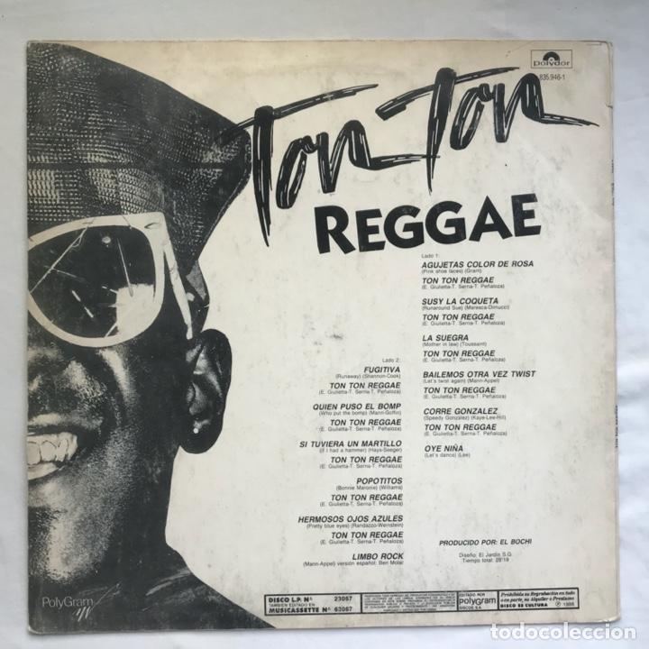 Discos de vinilo: ton ton reggae ARGENTINA 1988 - Foto 2 - 206933222