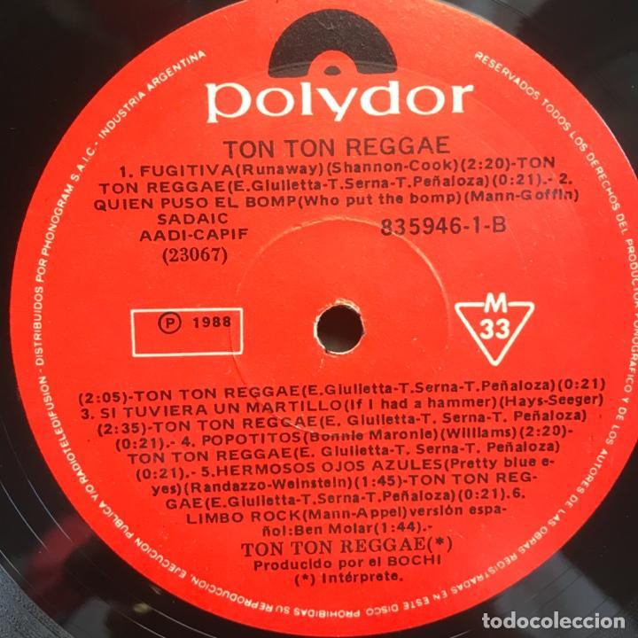 Discos de vinilo: ton ton reggae ARGENTINA 1988 - Foto 4 - 206933222