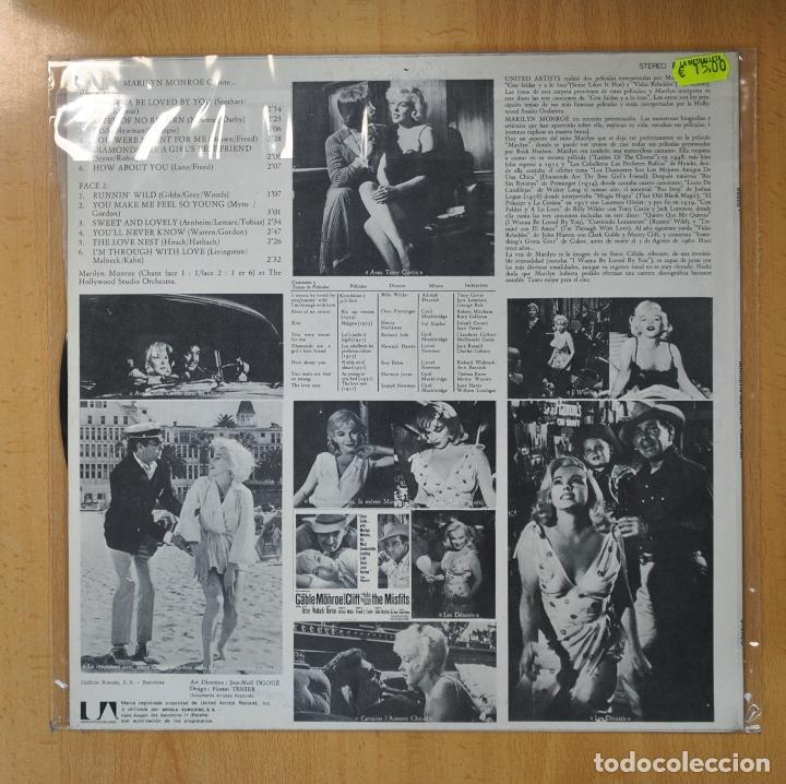 Discos de vinilo: MARILYN MONROE - CANTA... - LP - Foto 2 - 206935342