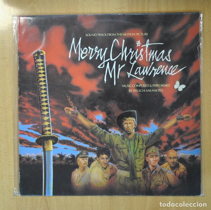 RYUICHI SAKAMOTO - MERRY CHRISTMAS MR LAWRENCE - BSO - LP (Música - Discos - LP Vinilo - Bandas Sonoras y Música de Actores )