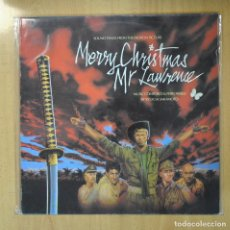 Discos de vinilo: RYUICHI SAKAMOTO - MERRY CHRISTMAS MR LAWRENCE - BSO - LP. Lote 206935403