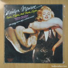 Discos de vinilo: MARILYN MONROE - NEVER BEFORE AND NEVER AGAIN - LP. Lote 206935641