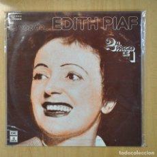 Discos de vinilo: EDITH PIAF - LA VOZ DE... EDITH PIAF - 2 LP. Lote 206935650