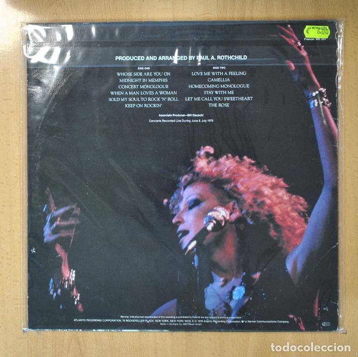Discos de vinilo: BETTE MIDLER - THE ROSE - BSO - LP - Foto 2 - 206935670