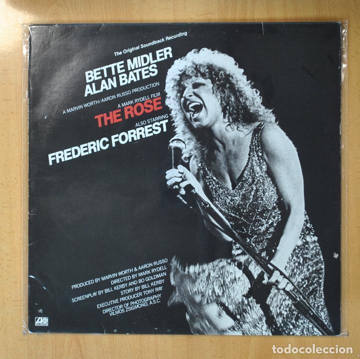 BETTE MIDLER - THE ROSE - BSO - LP (Música - Discos - LP Vinilo - Bandas Sonoras y Música de Actores )