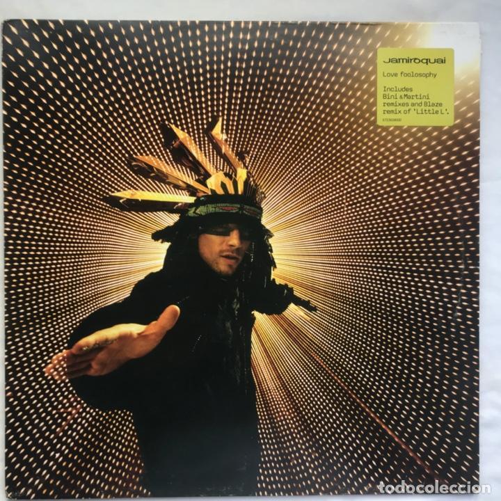 JAMIROQUAI – LOVE FOOLOSOPHY (Música - Discos - LP Vinilo - Techno, Trance y House)