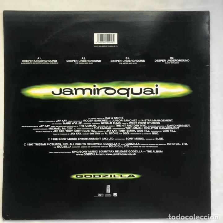 Discos de vinilo: Jamiroquai – Deeper Underground 1998 - Foto 2 - 206938797