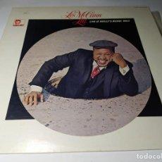 Discos de vinilo: LP - LES MCCANN LTD. ?– LIVE AT SHELLY'S MANNE-HOLE - EXPR-1004 ( VG+ / VG+ ) JAPAN. Lote 206940181