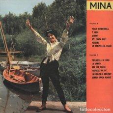Discos de vinilo: MINA TINTARELLA DI LUNA LP . ITALIAN POP BOSSA NOVA ADRIANO CALENTAN. Lote 206940208